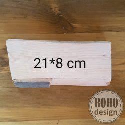Fotótranszfer 20x22 cm - kéreggel