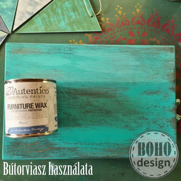 TÜRKIZ-BARNA Autentico festődoboz- poróbáld ki a bútorfestést!