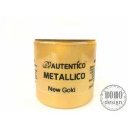 New gold - Autentico metál bútorfesték