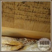 Vágódeszka saját, kézzel írott recepteddel (vagy a nagyiéval)