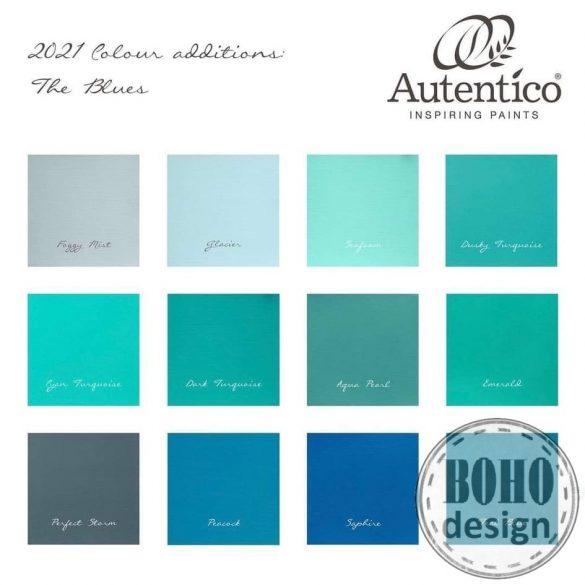 Cyan Turquoise  -  ÚJ szín 2021 - AUTENTICO VINTAGE CHALK PAINT