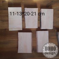 Fotótranszfer kb A/5 méret (11-13 széles 20-21 centi hosszú darabok) egy oldalán kérges