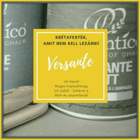 Krétafesték - Versante (festék és viasz egyben)
